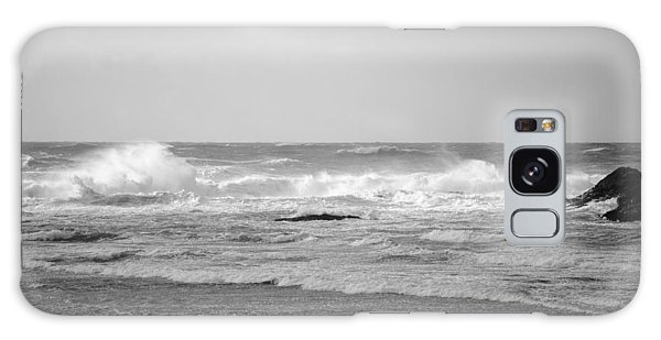 Wind Blown Waves Tofino Galaxy Case