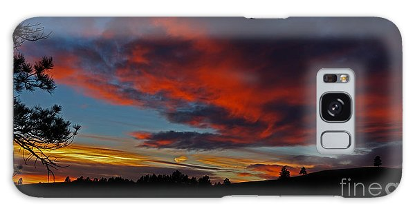 Black Hills Sunset Galaxy Case