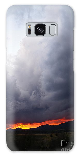Wind Event At Sundown Galaxy Case by Annlynn Ward