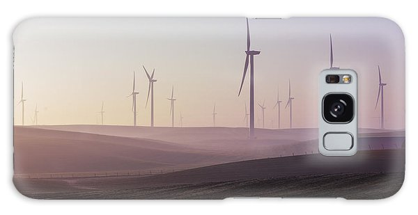 Wind Farm At Dawn Galaxy Case