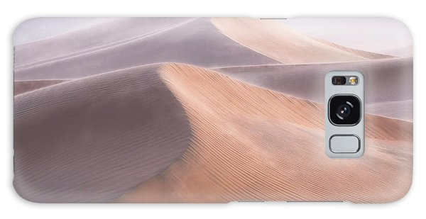 Sand Dunes Galaxy Case - Wind by Inigo Cia