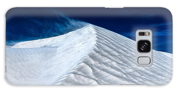 Wind Over White Sands Galaxy Case