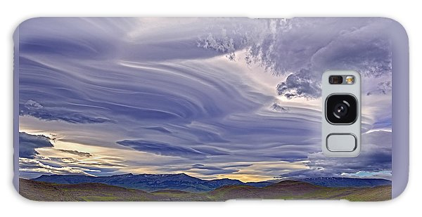 Wind Sculpture Galaxy Case