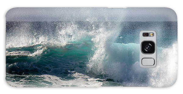 Wind Spray Galaxy Case by Lori Seaman