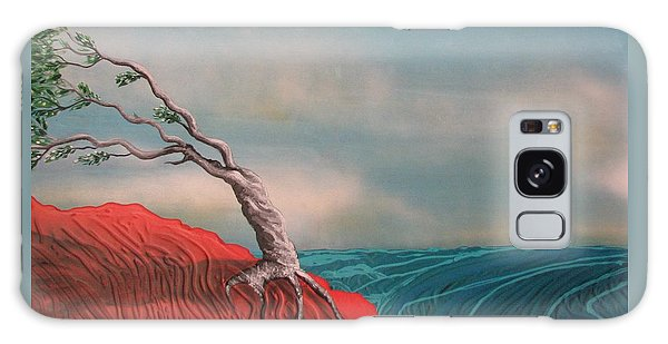 Wind Swept Tree Galaxy Case