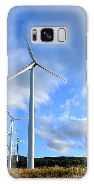 Wind Power Galaxy Case - Wind Turbine Farm by Olivier Le Queinec