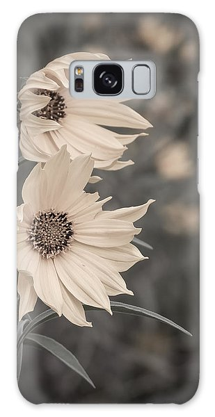 Windblown Wild Sunflowers Galaxy Case by Patti Deters