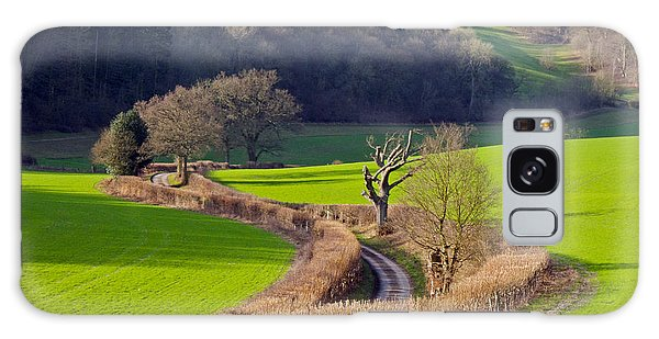 Winding Country Lane Galaxy Case by Tony Murtagh