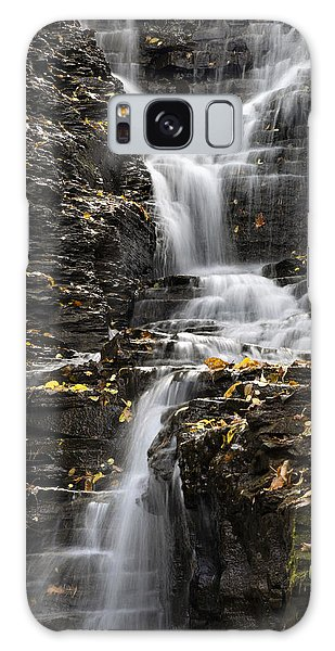Winding Waterfall Galaxy Case