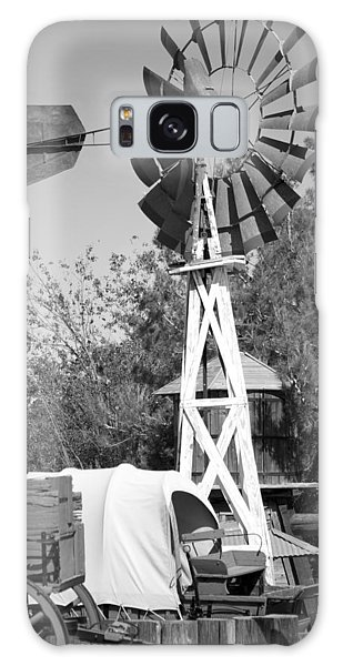 Windmill And Wagon Galaxy Case by Ivete Basso Photography