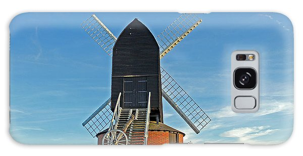 Windmill At Brill Galaxy Case by Tony Murtagh
