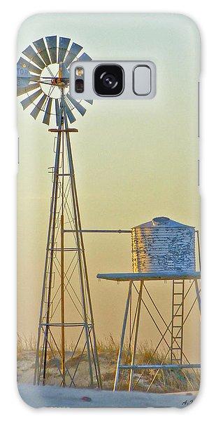 Windmill At Dawn 2011 Galaxy Case
