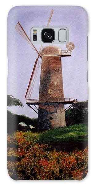 Windmill In Golden Gate Park Galaxy Case