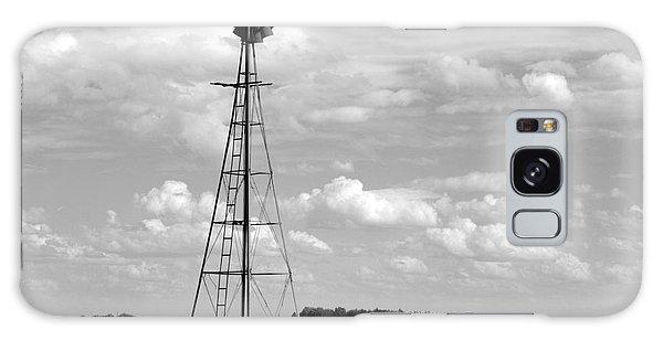Windmill In The Clouds Galaxy Case by Renie Rutten