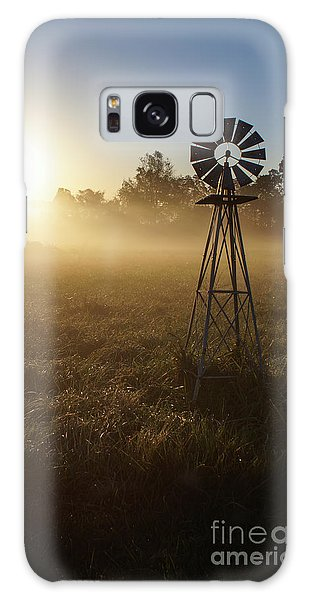 Windmill In The Fog Galaxy Case