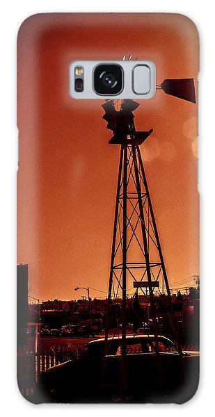 Windmill On Route66 Galaxy Case
