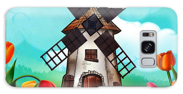 Windmill Path Galaxy Case