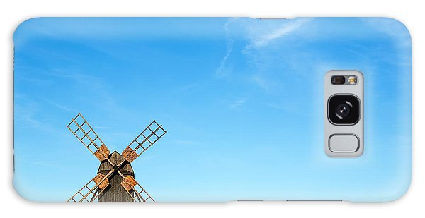 Windmill Portrait Galaxy Case