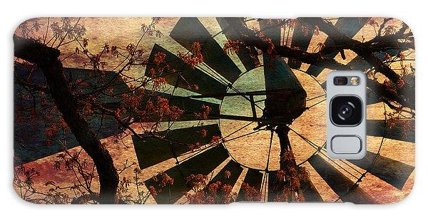 Windmill Through The Oak Galaxy Case