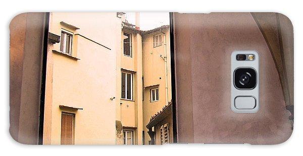 Window And Arch Galaxy Case by Walter Fahmy