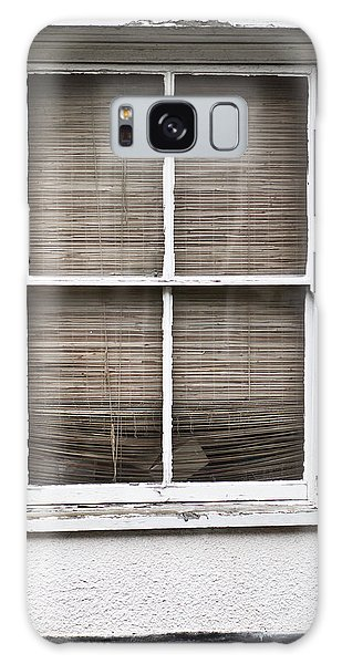 Window Galaxy Case - Window And Blind by Tom Gowanlock