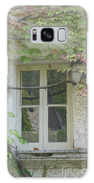Window And Ivy II Galaxy Case by Nora Boghossian