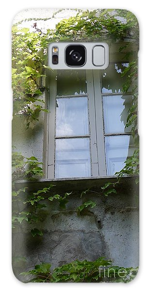 Window And Ivy Galaxy Case by Nora Boghossian