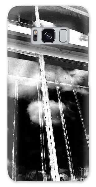 Window Clouds Galaxy Case