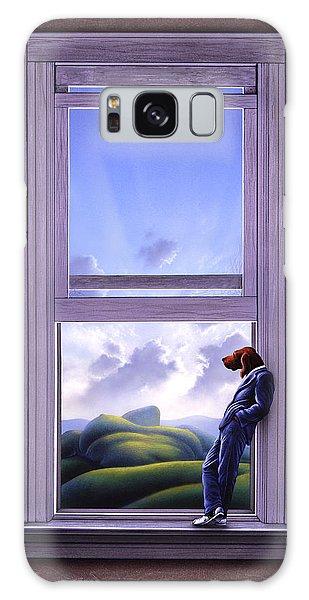 Window Galaxy Case - Window Of Dreams by Jerry LoFaro