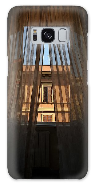 Window On Rome Galaxy Case