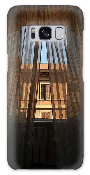 Window On Rome Galaxy Case