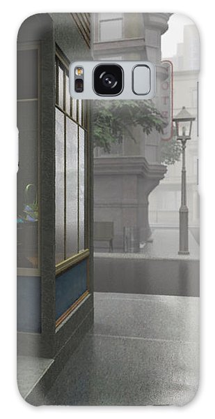 Window Shopping Galaxy Case