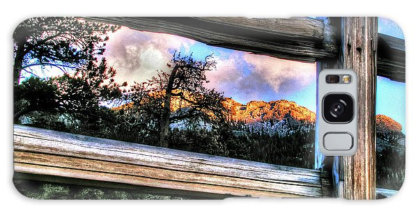 Window To Twin Sisters Galaxy Case by Craig T Burgwardt