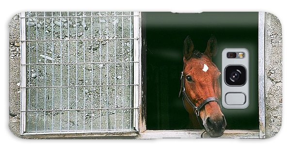 Window View Galaxy Case by David Porteus