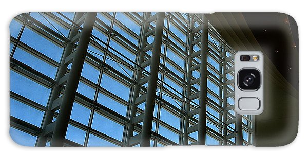 Window Wall At The Adrienne Arsht Center Galaxy Case by Greg Allore