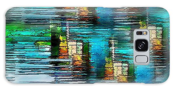 Windows Into The Blue Galaxy Case by Pamela Blizzard