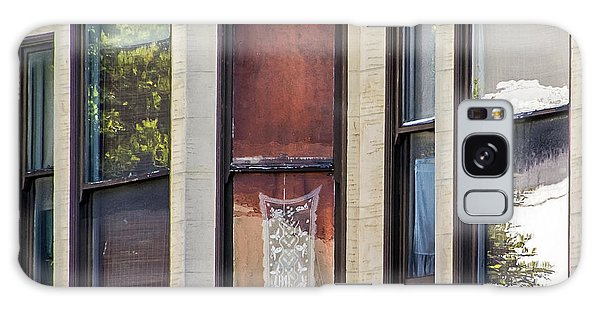 Galaxy Case featuring the photograph Windows by Kate Brown