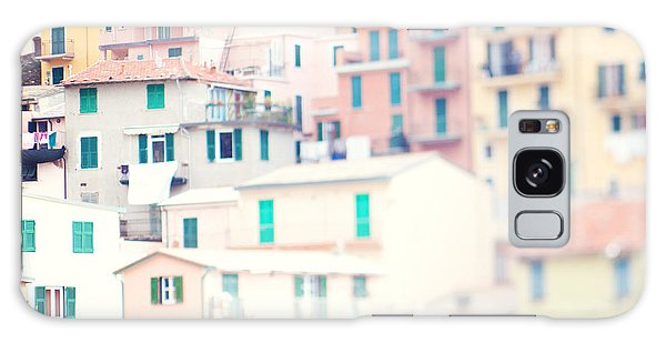 Windows Of Cinque Terre Italy Galaxy Case