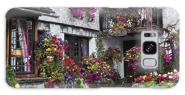 Windows Of Flowers Galaxy Case