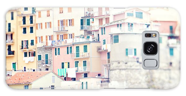 Windows Of Manarola Cinque Terre Italy Galaxy Case