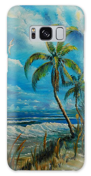 Windswept Beach Galaxy Case
