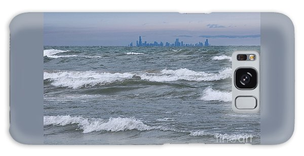 Windy City Skyline Galaxy Case