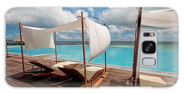 Windy Day At Maldives Galaxy Case