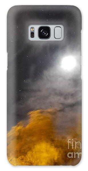 Windy Night Galaxy Case by Angela J Wright