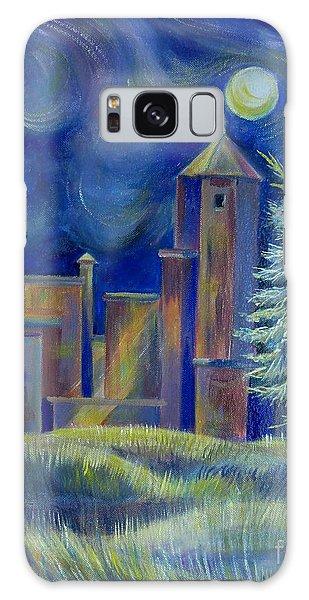Windy Night In Midnapore Galaxy Case by Anna  Duyunova