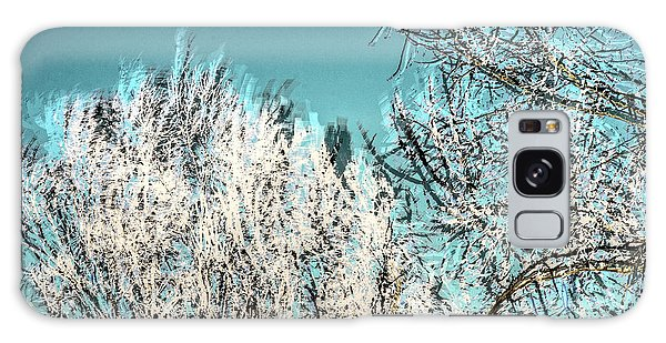 Windy Trees 13023 Galaxy Case