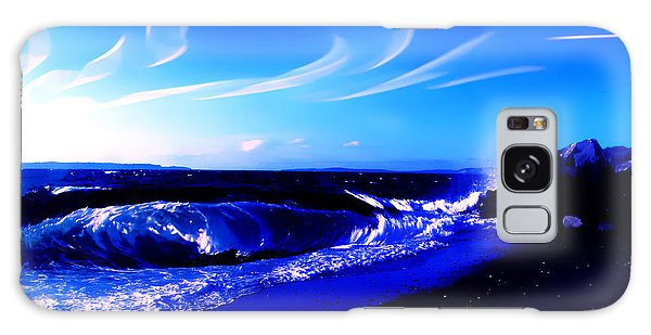 Windy Waterfront At Edmonds Washington Galaxy Case