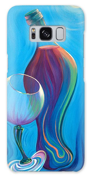 A Wine Affair Galaxy Case by Sandi Whetzel