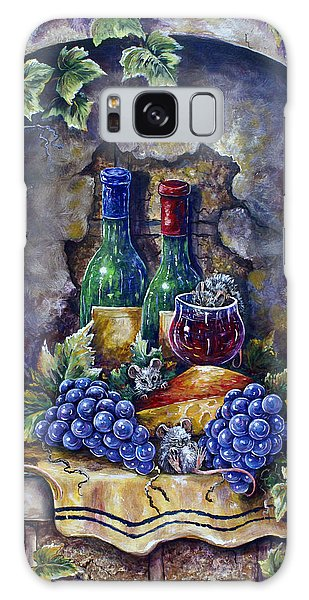 Wine And Cheese Social Galaxy Case
