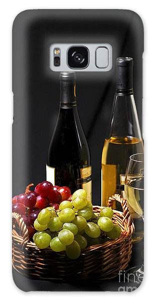 Wine And Grapes Galaxy Case